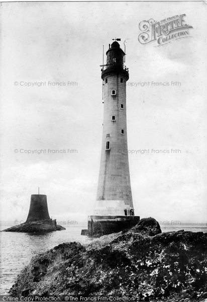 Plymouth Eddystone Lighthouse 1890 Francis Frith