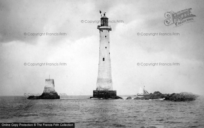 Photo of Plymouth, Eddystone Lighthouse c.1890