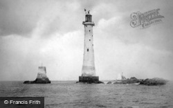 Plymouth, Eddystone Lighthouse c1890
