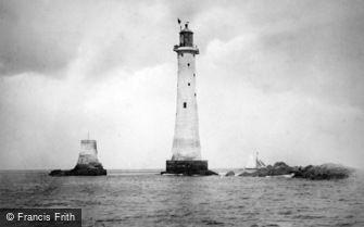 Plymouth, Eddystone Lighthouse c1890