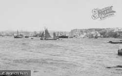 Plymouth, From Cattewater 1890