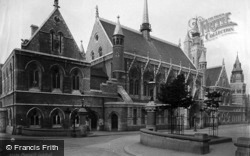 Plymouth, Guildhall 1889