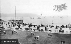 Plymouth, Hoe, Promenade And Sound 1907