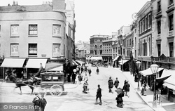 Old Town Street 1889, Plymouth