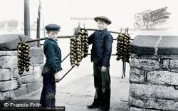 Plymouth, Onion Sellers 1907