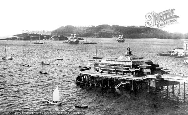 Photo of Plymouth, Pier 1892, ref. 30585
