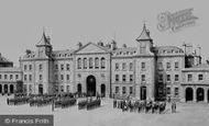 Plymouth, Royal Marine Barracks, Stonehouse 1890