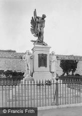 Plymouth, Royal Marine War Memorial 1924