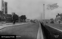 Plymouth, Royal Parade c.1955