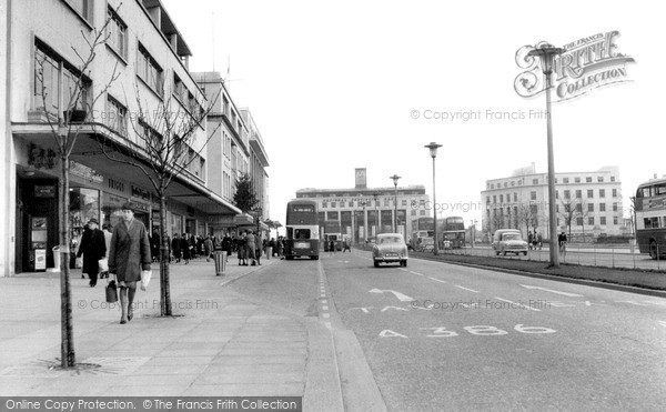 Photo of Plymouth, Royal Parade c1960, ref. P60101