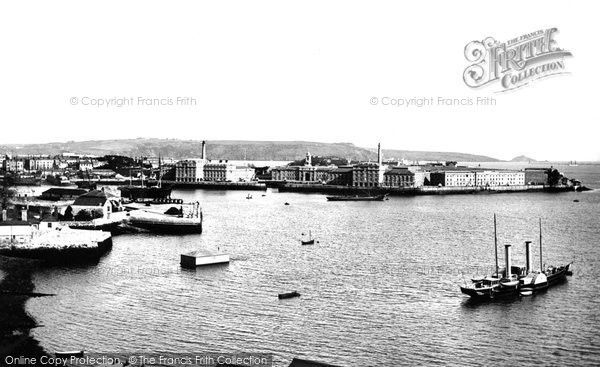 Photo of Plymouth, Royal William Victualling Yard, Stonehouse 1890, ref. 22444