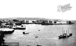 Royal William Victualling Yard, Stonehouse 1890, Plymouth