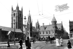 St Andrew's Cross 1900, Plymouth