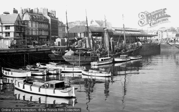 Photo of Plymouth, the Barbican c1950, ref. P60034