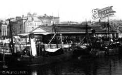 Plymouth, The Fish Market 1904
