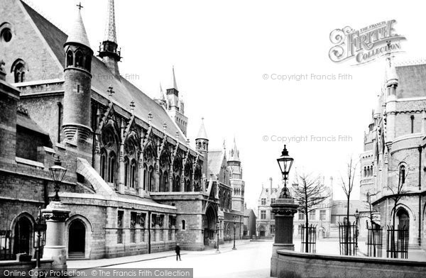 Plymouth, the Guildhall and the Post Office 1889