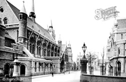 The Guildhall And The Post Office 1889, Plymouth