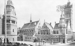 Plymouth, The Guildhall c.1900