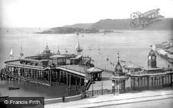 The Hoe Pier 1889, Plymouth