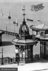 Plymouth, The Hoe Pier Kiosk 1889