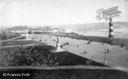 The Hoe Promenade c.1900, Plymouth