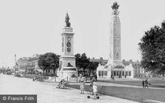 Plymouth, the Naval and Armada Memorials 1924