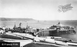 Plymouth, The Pier 1898
