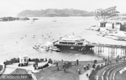 Plymouth, The Pier And Hoe c.1900
