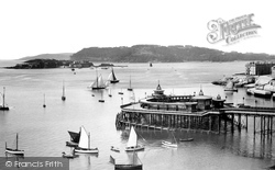The Pier And Mount Edgcumbe 1889, Plymouth