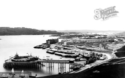 The Pier From Smeaton's Tower 1889, Plymouth