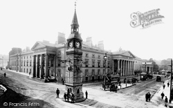 Theatre Royal And Derry's Clock 1907, Plymouth
