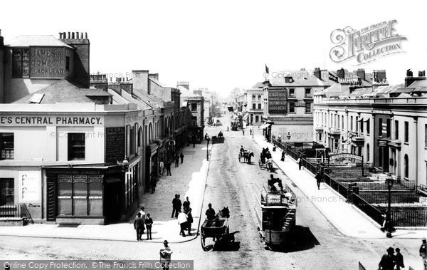 Plymouth, Union Street 1889