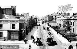 Plymouth, Union Street 1889