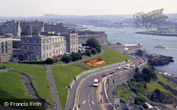 View East From Smeaton's Tower c.1995, Plymouth