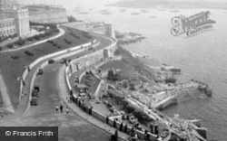 View From Old Lighthouse c.1950, Plymouth