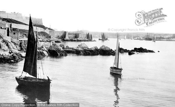 Photo of Plymouth, View From Pier 1892