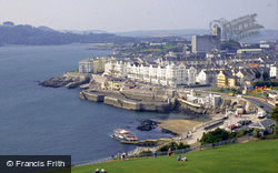 View West From Smeaton's Tower c.1995, Plymouth