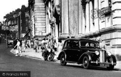 Plymouth, Vintage Car, Tavistock Road c.1950