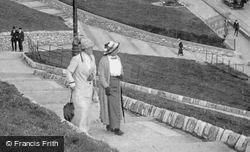 Women Promenading On The Hoe 1913, Plymouth