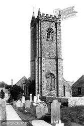 Plympton, Parish Church Of Plympton St Maurice 1898