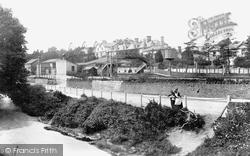 Plympton, Railway Station 1898