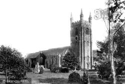 Plympton, St Mary's Church 1898