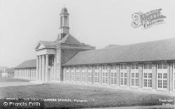 Plympton, The New Grammar School c.1955
