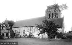 Polesworth, Abbey Church 1924