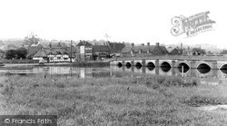 Polesworth, River Anker And Bridge 1958