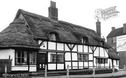 Polesworth, Thatched Cottage 1958