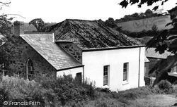 Polgooth, The Wesleyan Chapel c.1955