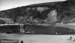 Polkerris, Beach And Pier c.1960