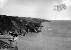 Polkerris, Gribben Head c.1950