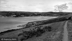 Polkerris, Par From The Cliffs c.1960